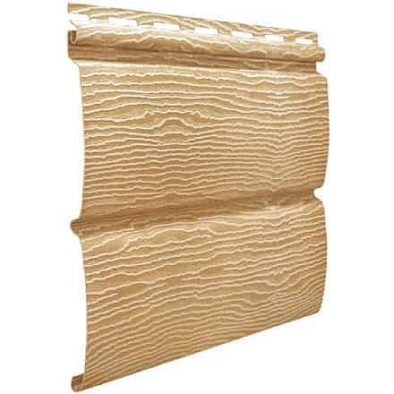Сайдинг Виниловый Ю-Пласт, Timberblock (Тимберблок), Дуб золотой